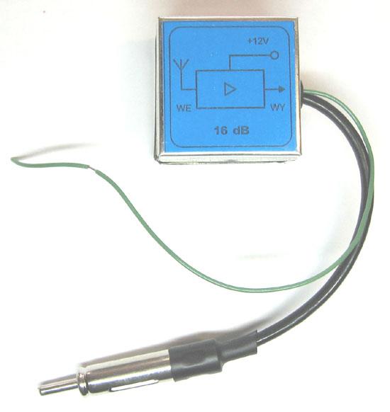 Схема антенный усилитель